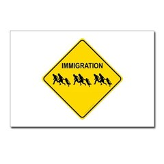 Immigration Crossing Postcards (Package of 8)