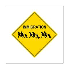 Immigration Crossing Posters