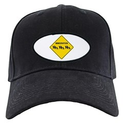 Immigration Crossing Road Sign Baseball Hat