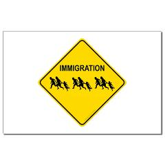 Immigration Crossing Small Posters