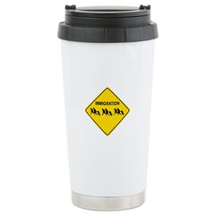 Immigration Crossing Travel Mug