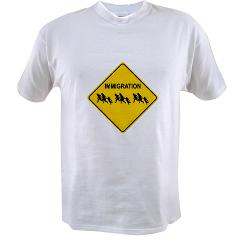Immigration Crossing Value T-shirt