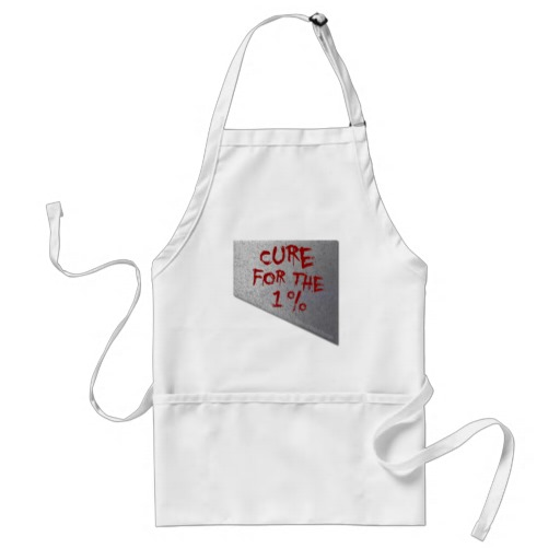 Cure for the 1 Percent Adult Apron