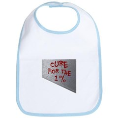 Cure for the 1 percent Baby Bib