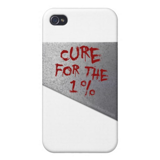 Cure for the 1 percent Case Savvy iPhone 4 Matte Finish Case