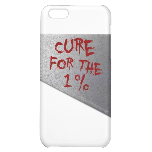 Cure for the 1 percent Case Savvy Matte Finish iPhone 5C Case
