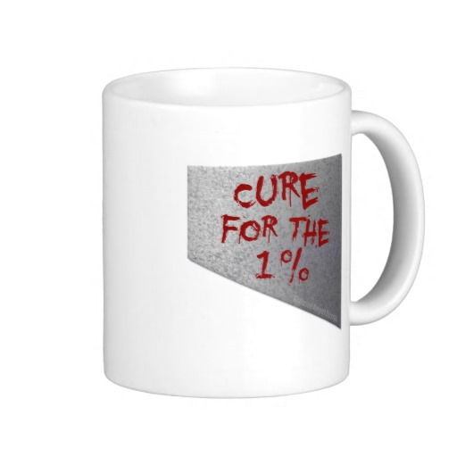 Cure for the 1 percent Classic White Mug