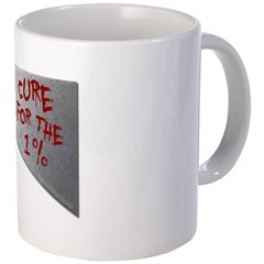 Cure for the 1 percent Coffee Mug