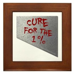 Cure for the 1 percent Framed Tile