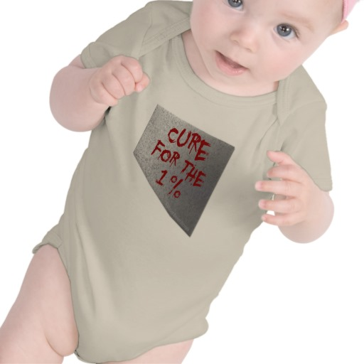 Cure for the 1 percent Infant American Apparel Organic Creeper