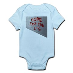 Cure for the 1 percent Infant Bodysuit
