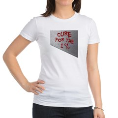 Cure for the 1 percent Junior Jersey T-Shirt