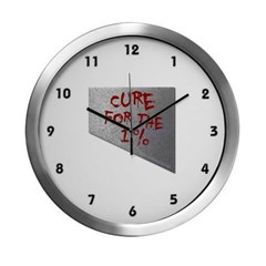Cure for the 1 percent Modern Wall Clock