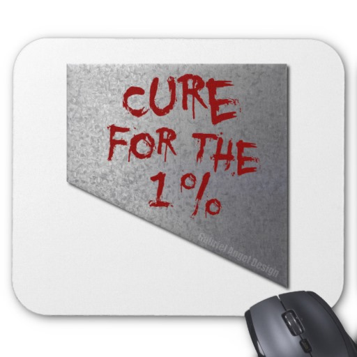 Cure for the 1 percent Mousepad