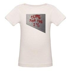 Cure for the 1 percent Organic Baby Tee