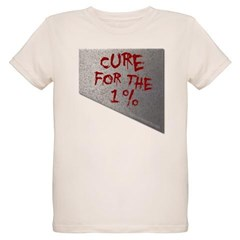 Cure for the 1 percent Organic Kids T-Shirt