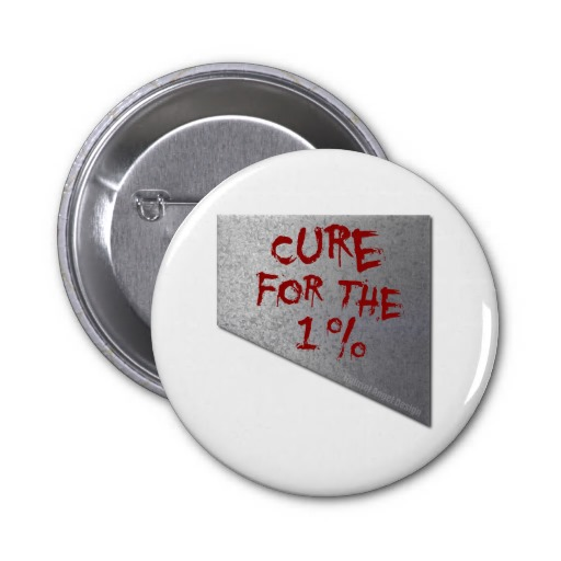 Cure for the 1 Percent Pinback Buttons
