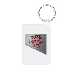Cure for the 1 percent Portrait Keychains