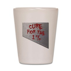 Cure for the 1 percent Shot Glass
