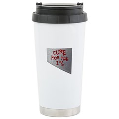 Cure for the 1 percent Travel Mug