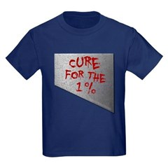 Cure for the 1 percent Youth Dark T-Shirt by Hanes