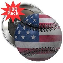 "USA Baseball 2.25"" Button (100 pack)"