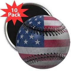 """USA Baseball 2.25"""" Magnet (10 pack)"""