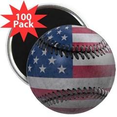 """USA Baseball 2.25"""" Magnet (100 pack)"""