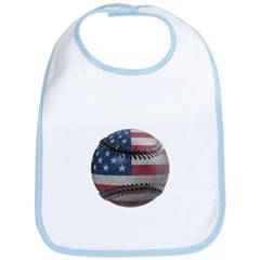 USA Baseball Baby Bib
