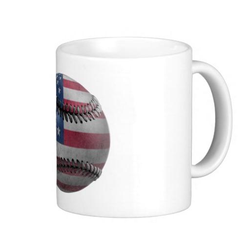 USA Baseball Classic White Mug