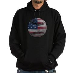 USA Baseball Dark Hooded Sweatshirt