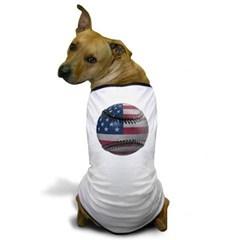 USA Baseball Dog T-Shirt