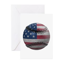 USA Baseball Greeting Cards (Pk of 20)