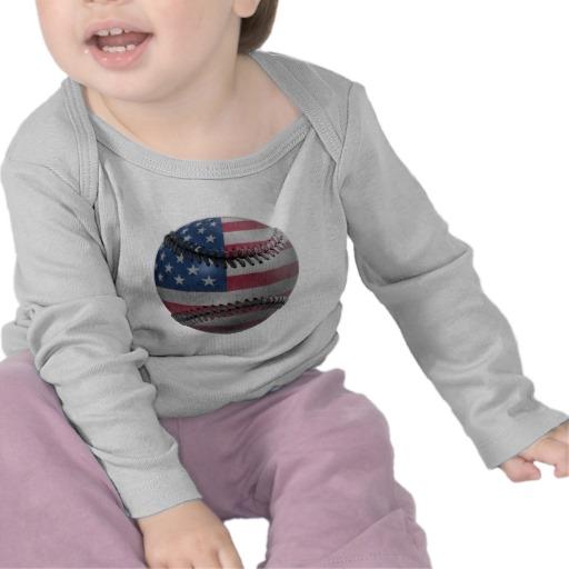 USA Baseball Infant Bella Long Sleeve T-Shirt