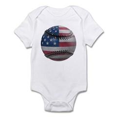 USA Baseball Infant Bodysuit