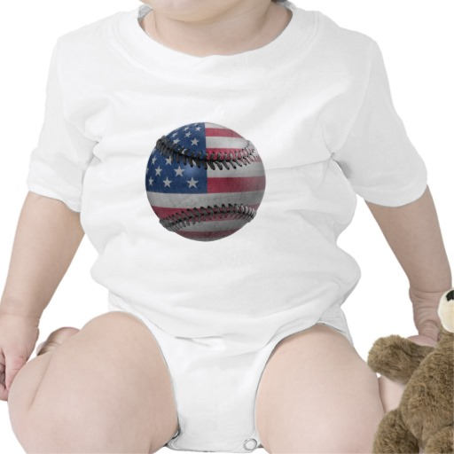 USA Baseball Infant Creeper