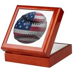USA Baseball Keepsake Box