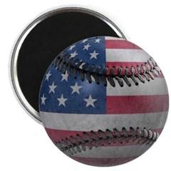 USA Baseball Magnet