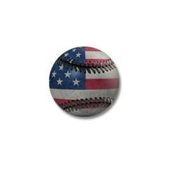 USA Baseball Mini Button