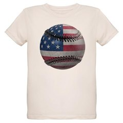 USA Baseball Organic Kids T-Shirt