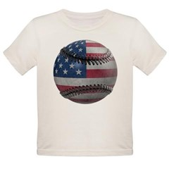 USA Baseball Organic Toddler T-Shirt