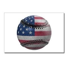 USA Baseball Postcards (Package of 8)
