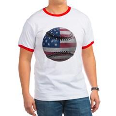 USA Baseball Ringer T-Shirt