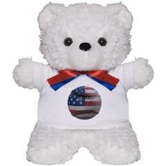 USA Baseball Teddy Bear
