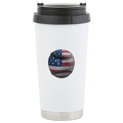 USA Baseball Travel Mug