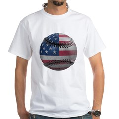 USA Baseball White T-Shirt