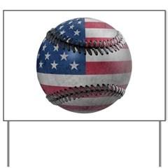 USA Baseball Yard Sign