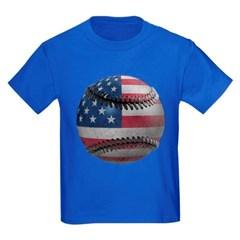 USA Baseball Youth Dark T-Shirt by Hanes