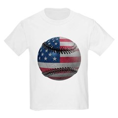 USA Baseball Youth T-Shirt by Hanes