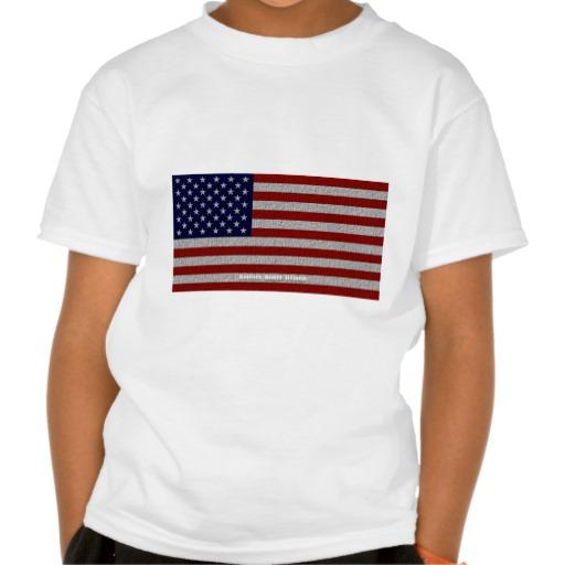 American Cloth Flag Kids' Basic Hanes Tagless ComfortSoft® T-Shirt
